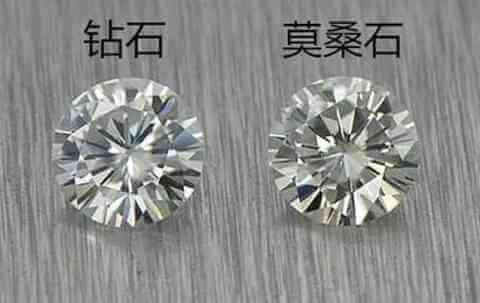 莫桑钻和钻石的区别