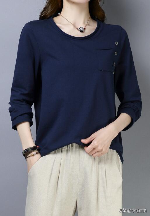 藏青色衣服怎么搭配好看 显瘦又时尚穿搭技巧