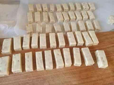 自制牛轧糖的做法最佳配方,美味又好吃