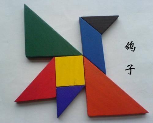 有趣百变七巧板拼法大全,孩子开发智力的首选!