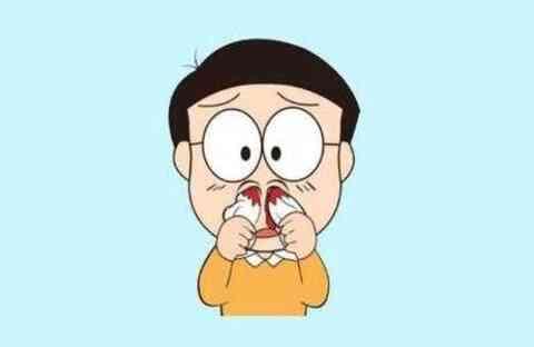 小孩流鼻血是什么原因?给孩子止血的6种方法