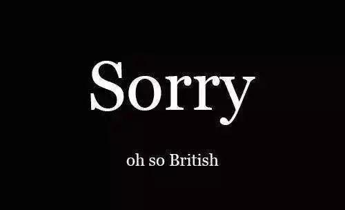 对不起英语怎么写?
