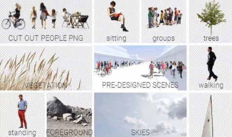 盘点国外十大免抠PNG图片素材网站