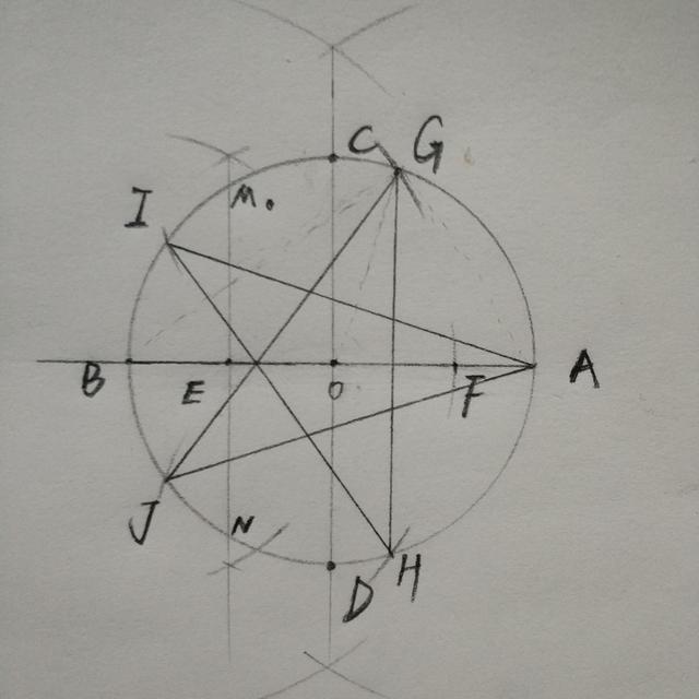 五角星怎么画标准