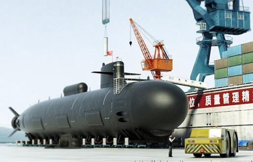 """中美开战!中国只需要一艘096就能够""""毁灭世界"""""""