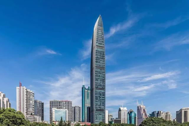 深圳五大高楼,第一高楼592.5米,你去过哪几个?