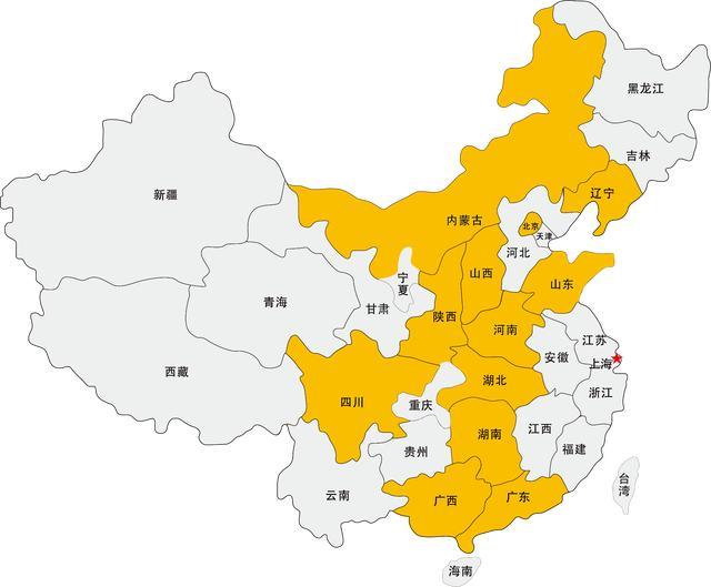 中国34个省份面积大小排名,你知道自己家乡多大吗