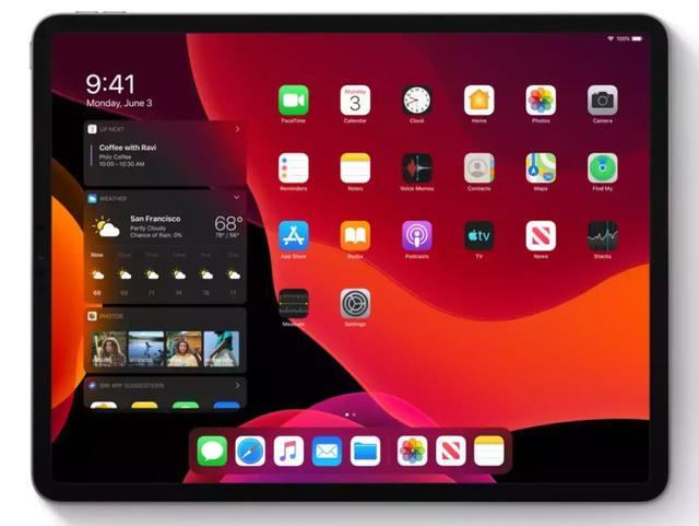 iPad 独立系统,超强分屏功能