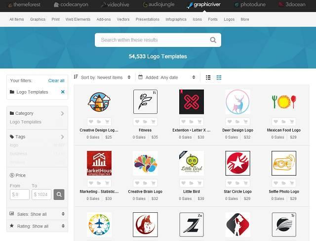 11个LOGO素材网站,看看国外标志